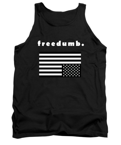 Tank Top featuring the painting Freedumb by Chief Hachibi