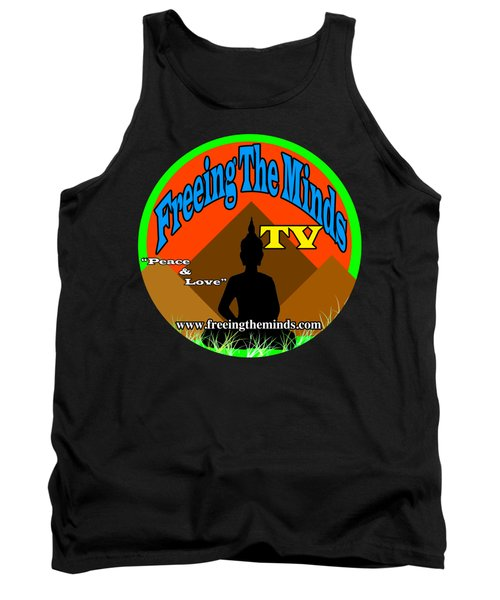 Freeing The Minds Supporter Tank Top
