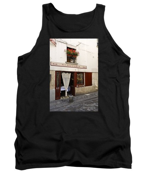 French Bistro Tank Top by Perry Van Munster