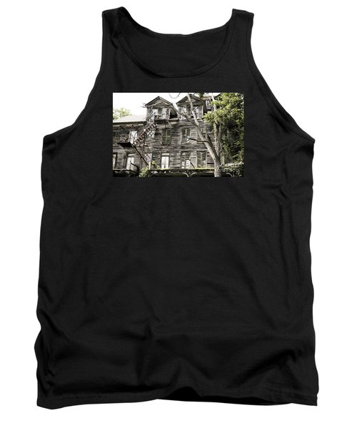 French Doors And Fire Escapes Tank Top