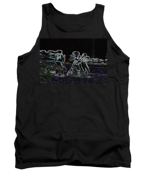 Friday Night Under The Lights Tank Top by Chris Thomas