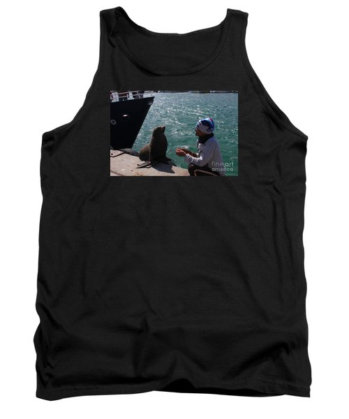 Friendly Seal Tank Top by Bev Conover