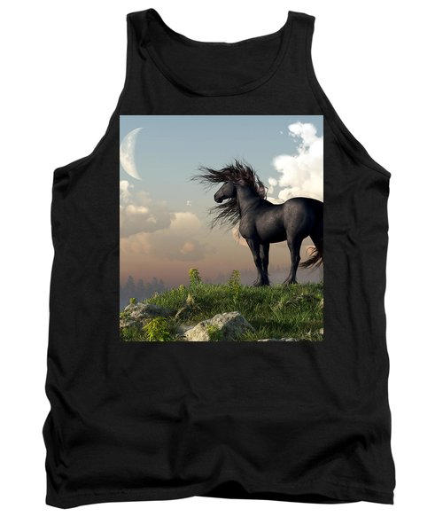 Friesian Moon Tank Top