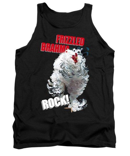 Frizzled Brahma T-shirt Print Tank Top