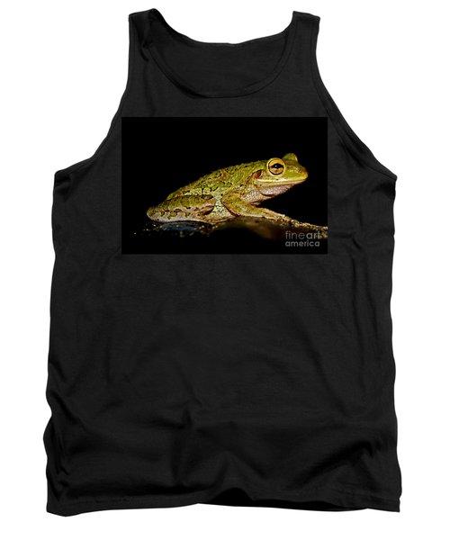 Tank Top featuring the photograph Cuban Tree Frog by Olga Hamilton