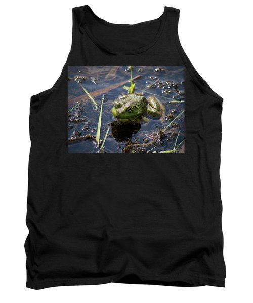 Frog  Tank Top by Trace Kittrell