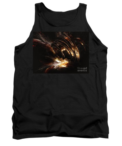 Tank Top featuring the digital art From The Beyond by Isabella F Abbie Shores FRSA