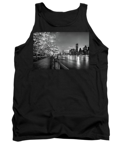 Tank Top featuring the photograph Front Row Roosevelt Island by Az Jackson