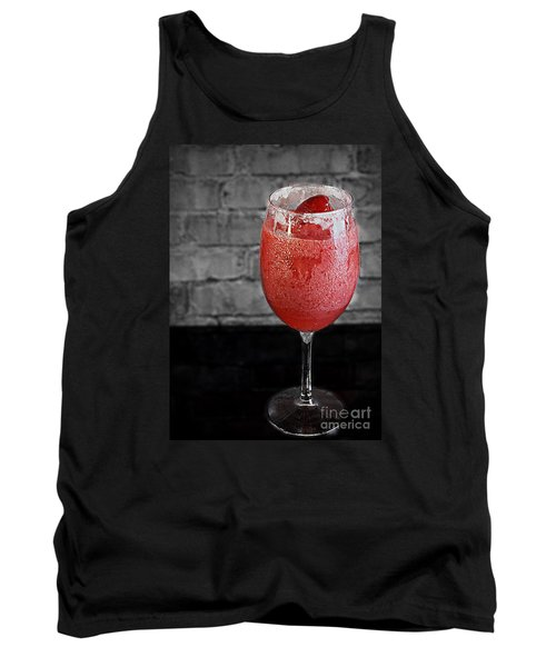 Frozen Strawberry Daiguiri Tank Top