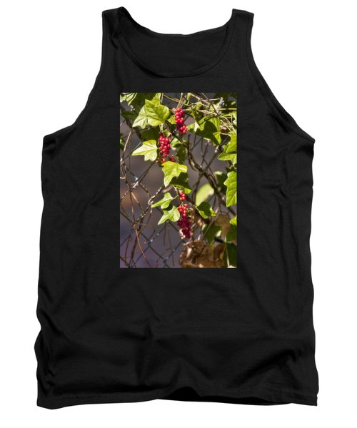 Tank Top featuring the photograph Fruits Of Autumn by Joan Bertucci