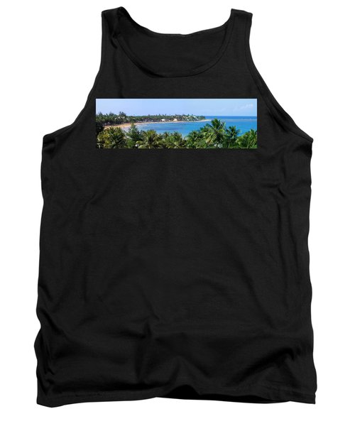 Tank Top featuring the photograph Full Beach View by Suhas Tavkar