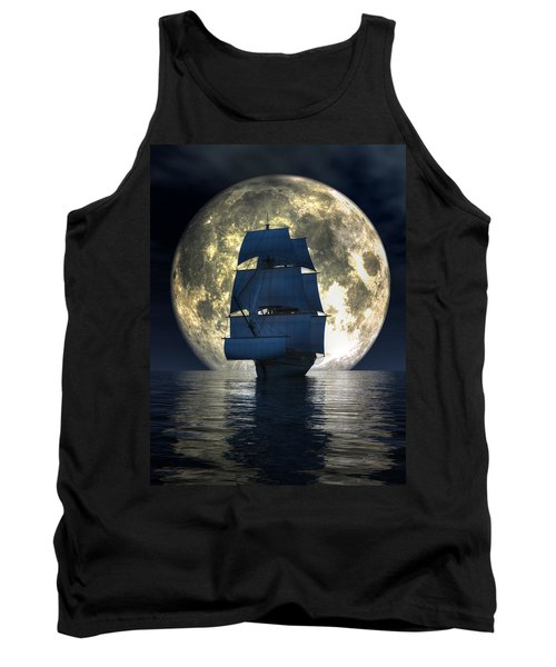 Full Moon Pirates Tank Top