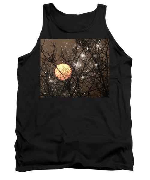 Full Moon Starry Night Tank Top