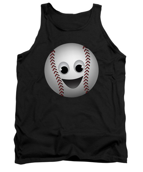 Fun Baseball Character Tank Top