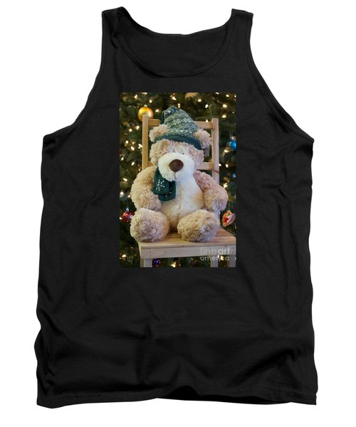 Fuzzy Bear Tank Top by Vinnie Oakes