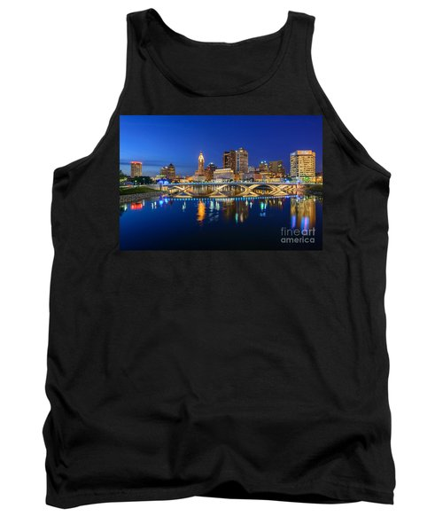 Fx2l531 Columbus Ohio Skyline Photo Tank Top
