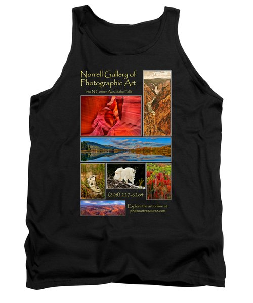 Gallery Ad Tank Top by Greg Norrell