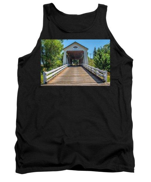 Gallon House Covered Bridge Tank Top