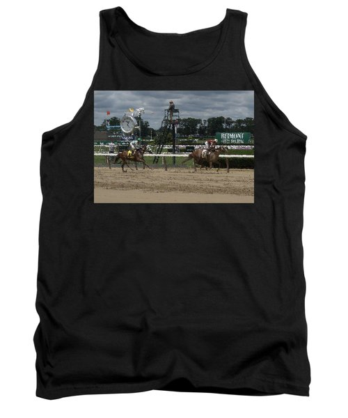 Tank Top featuring the digital art Galloping Out Painting by  Newwwman