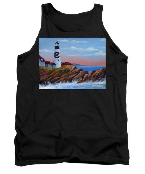 Gamecock Lighthouse Tank Top