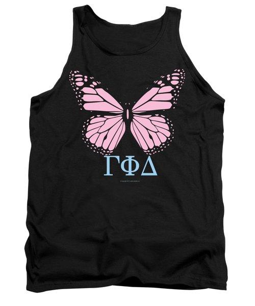 Gamma Phi Delta Classy Butterfly  Tank Top