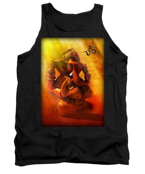 Ganesha Hindu God Asian Art Tank Top