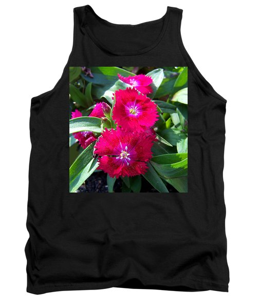 Tank Top featuring the photograph Garden Delight by Sandi OReilly