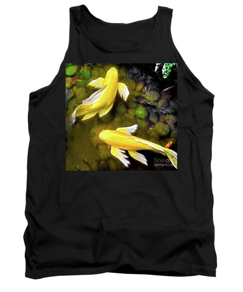 Garden Goldenfish Tank Top