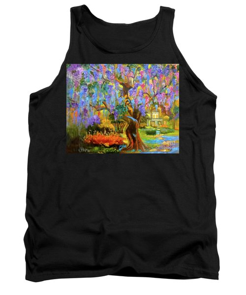Garden Pathway Tank Top by Jenny Lee