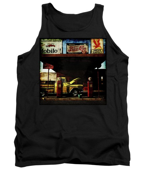 Gas Station No3 Tank Top