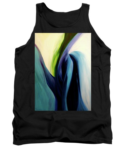 Gate To The Garden  By Paul Pucciarelli Tank Top