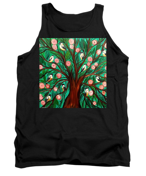 Gathering The Family Tank Top by Lisa Aerts