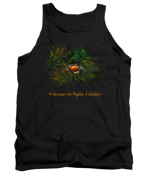 Gator Country  Tank Top by Mark Andrew Thomas