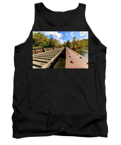 Gauley River Railroad Trestle Tank Top