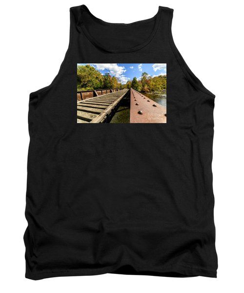 Gauley River Railroad Trestle Tank Top