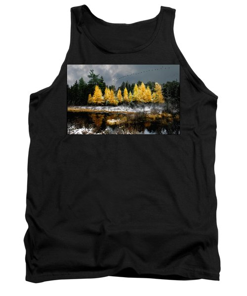 Geese Over Tamarack Tank Top