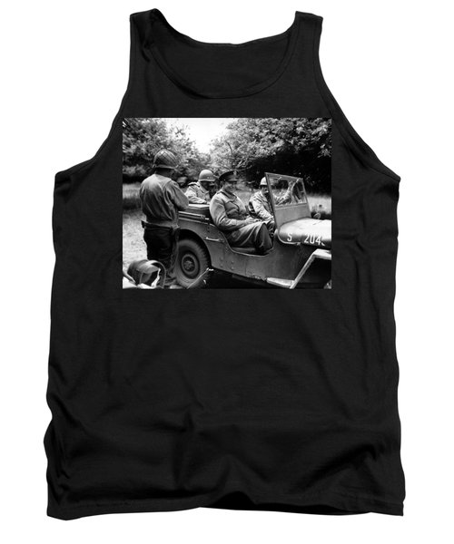 General Eisenhower In A Jeep Tank Top
