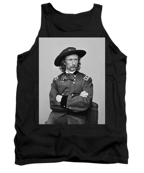 General George Armstrong Custer Tank Top