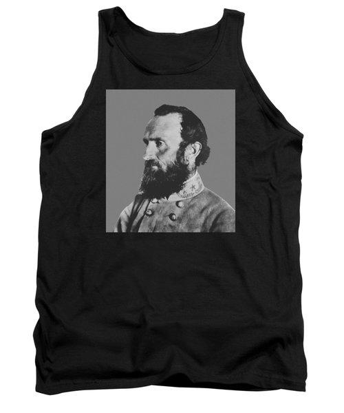General Stonewall Jackson Profile Tank Top