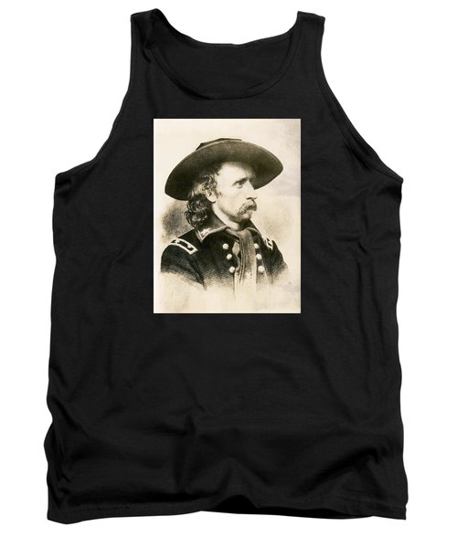 George Armstrong Custer  Tank Top