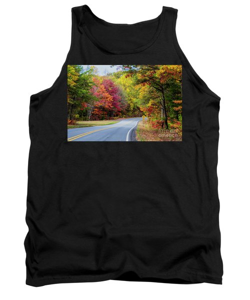 Georgia Scenic Byway Tank Top by Barbara Bowen