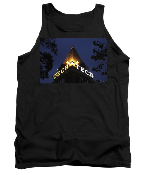 Georgia Tech Georgia Institute Of Technology Georgia Art Tank Top