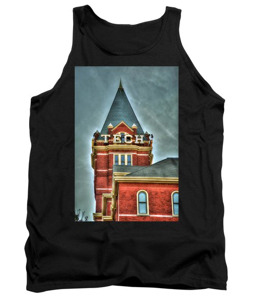 Georgia Tech Tower 8 Georgia Institute Of Technology Art Tank Top