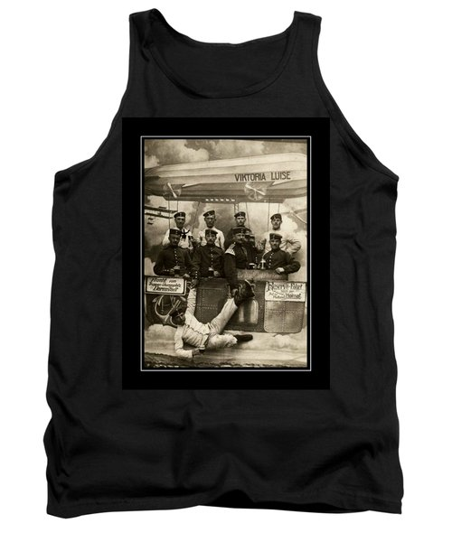 German Military Officers Zeppelin Crew 1913 Tank Top