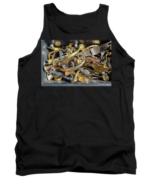 Tank Top featuring the photograph Get A Handle On It by Christopher Holmes