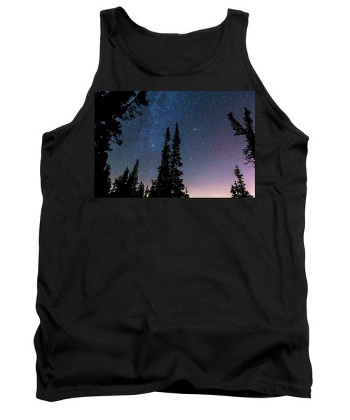 Tank Top featuring the photograph Getting Lost In A Night Sky by James BO Insogna