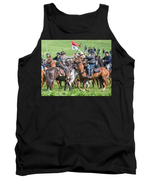 Gettysburg Cavalry Battle 8021c  Tank Top