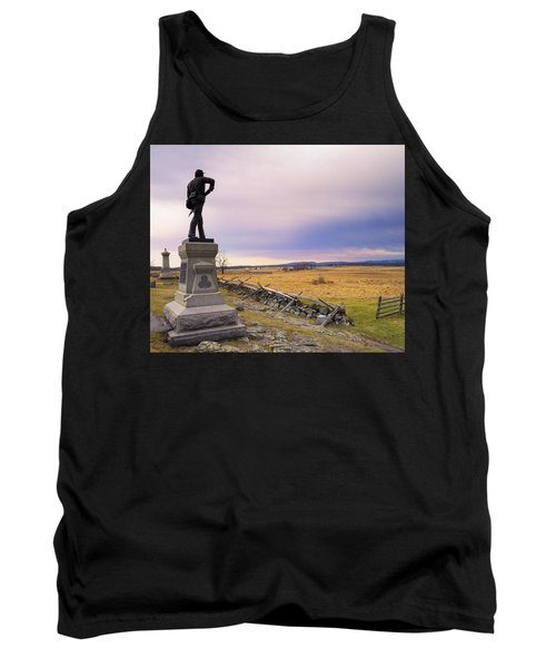 Tank Top featuring the photograph Gettysburg Monument I by Marianne Campolongo