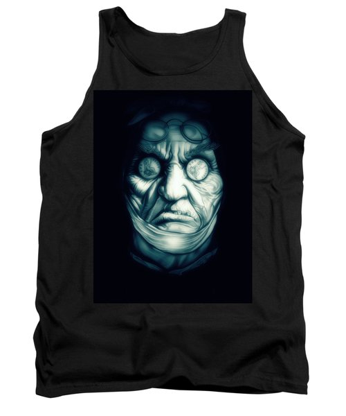 Ghost Marley Tank Top by Fred Larucci