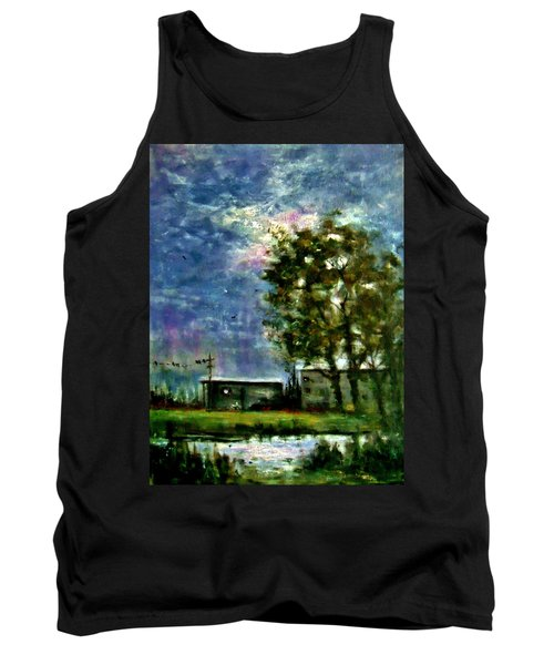 Ghost Town.. Tank Top by Cristina Mihailescu